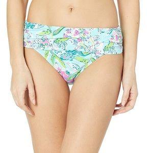 Lilly Pulitzer Lagoon sarong hipster bikini